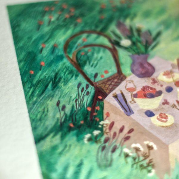 Délices d'hiver Exposition d'illustrations originales et marché d'artisanat - Célia Housset