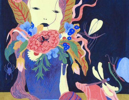 Illustration - Nature morte - Gouache et crayon gras - Célia Housset