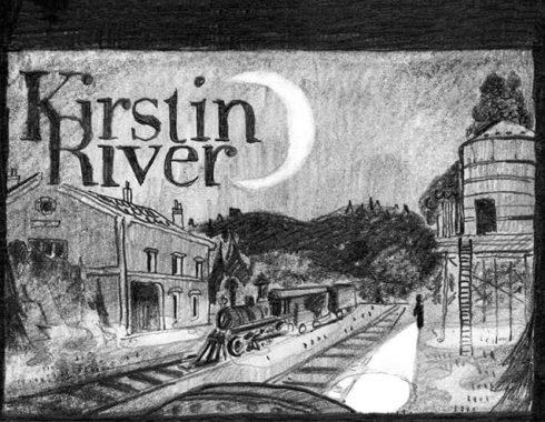 extrait de la bande dessinée kirstin river publiée dans le second tome du fanzine equinoxe par guy pradel. BD faite par timothée lestradet et celia housset